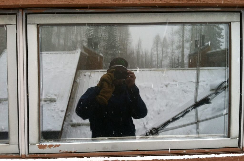 Roof snow removal at Silverpick Lodge in Durango, CO.